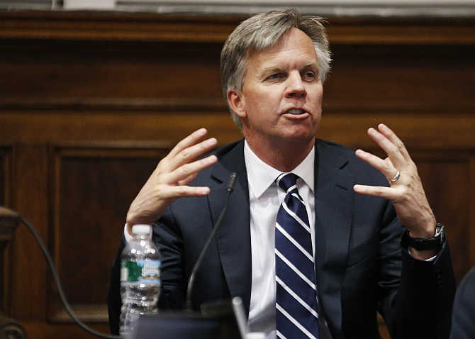 Ron Johnson in New York.