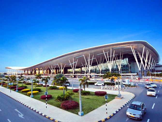 Inside Bangalore's swanky airport terminal
