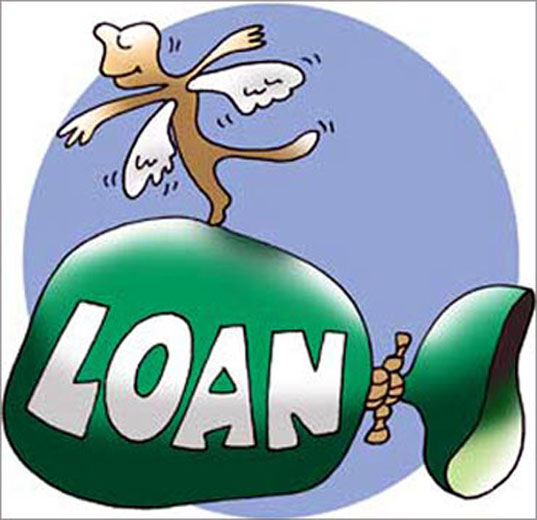 Banks check account history of first time borrrowers.