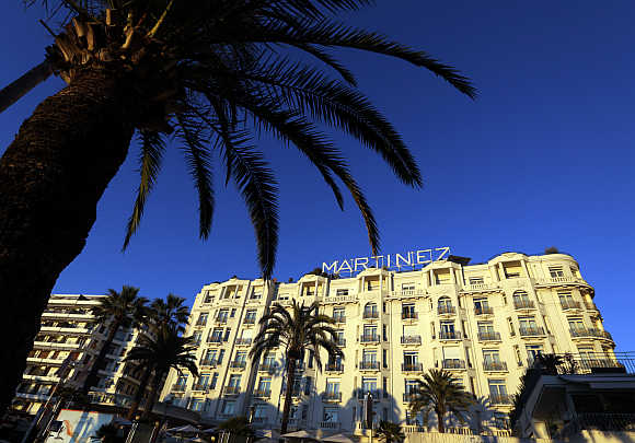 Martinez Hotel in Cannes, France.