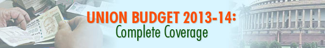 India's Union Budget 2013-14: Complete coverage