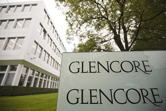 Glencore's headquarters in the Swiss town of Baar.