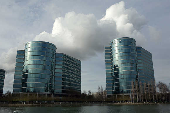 Oracle headquarters in Redwood City, California.