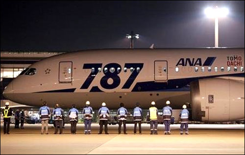 Japan's ANA grounds all 17 Boeing 787s for emergency inspections after fire