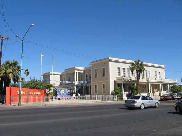 House of Culture in Mexicali, Mexico.