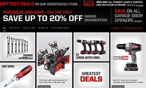 Craftsman is a line of tools, lawn and garden equipment, and work wear controlled by Sears Holdings.