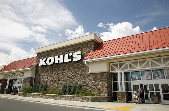 Kohl's store in Westminster, Colorado, United States.