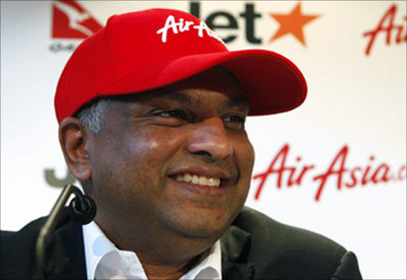 AirAsia chief executive officer Tony Fernandes.
