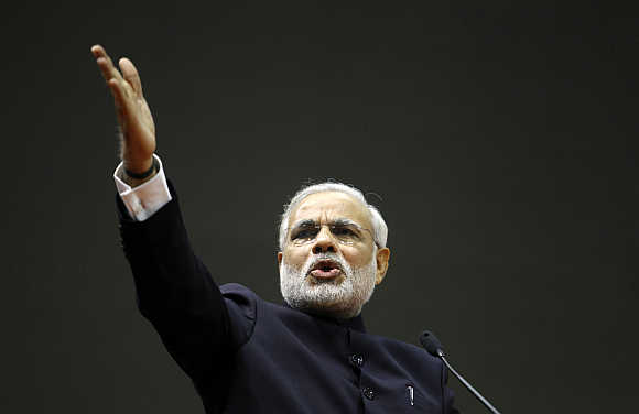Black money has destroyed nation, fight against it: PM to youth