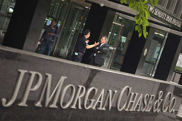 JP Morgan Chase & Company headquarters in New York.