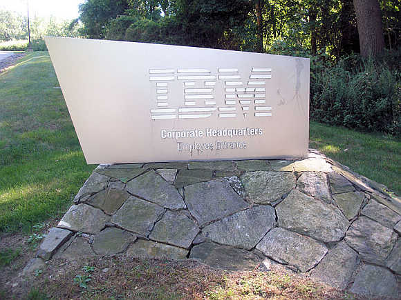 IBM headquarters in Armonk, New York.