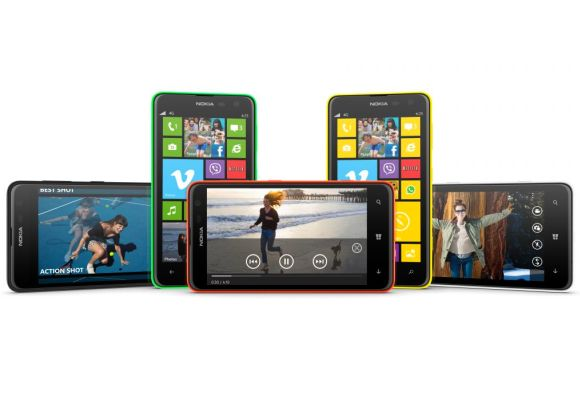 Nokia unveils low-price Lumia 625 with 4.7-in screen