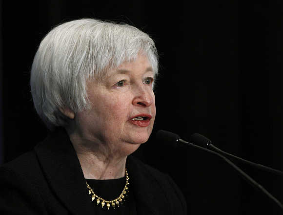 Federal Reserve Vice-Chair Janet Yellen in Washington, DC.