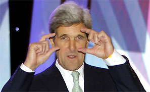 John Kerry. Photograph: reuters
