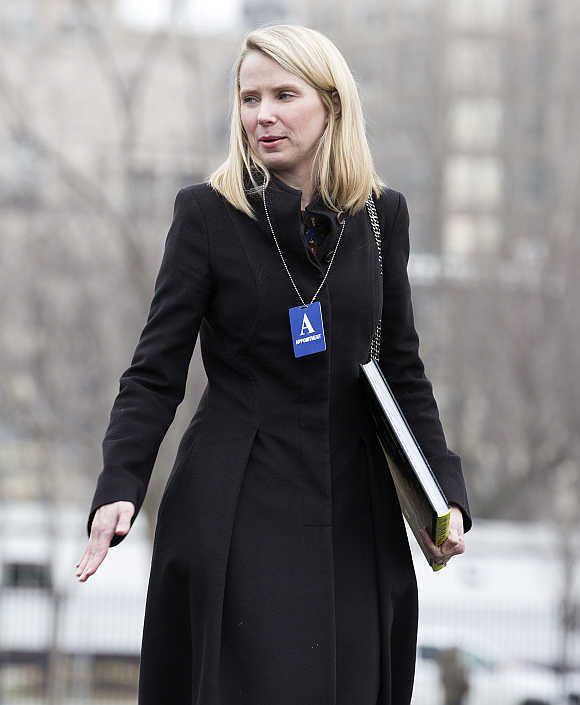 Marissa Mayer, President and CEO of Yahoo!, in Washington, DC.