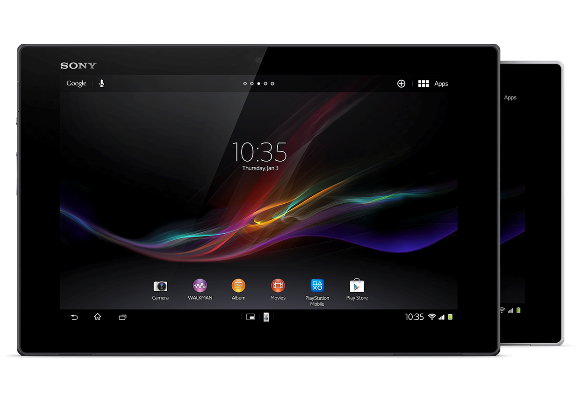 Sony Xperia Tablet Z in India @ Rs 46,990