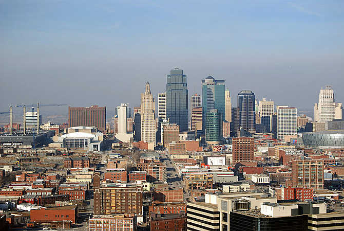 A view of Kansas City, Missouri.