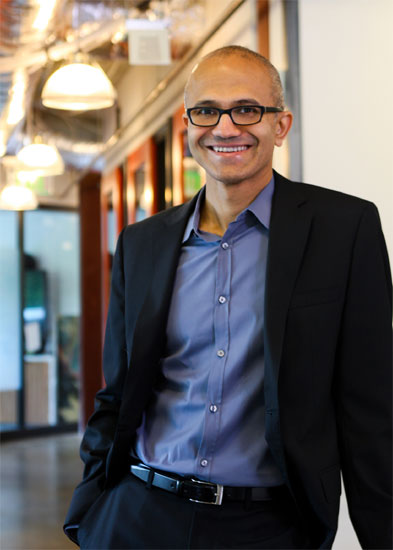 Satya Nadella, Microsoft's cloud and enterprise chief.