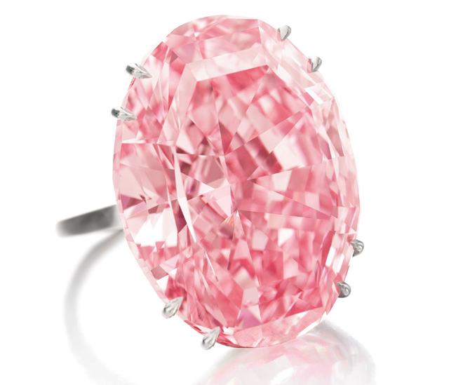 'Pink Star' diamond sold for a whopping $83 million!