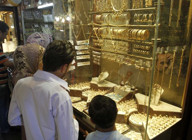 Want to save money for jewellery? Invest in gold ETFs