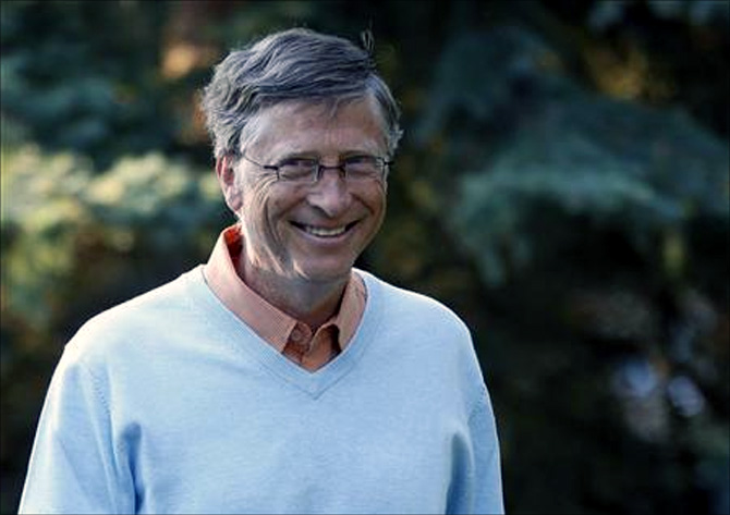 Microsoft co-founder Bill Gates attends the Allen & Co Media Conference in Sun Valley.