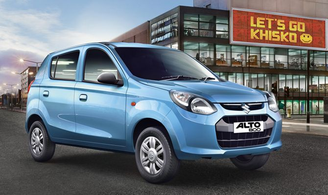 Maruti launches anniversary edition Alto 800 at Rs 3.12 lakh