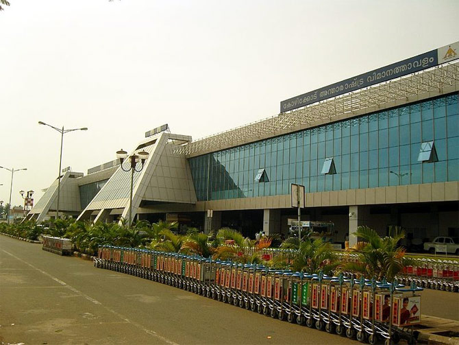 Calicut International Airport.