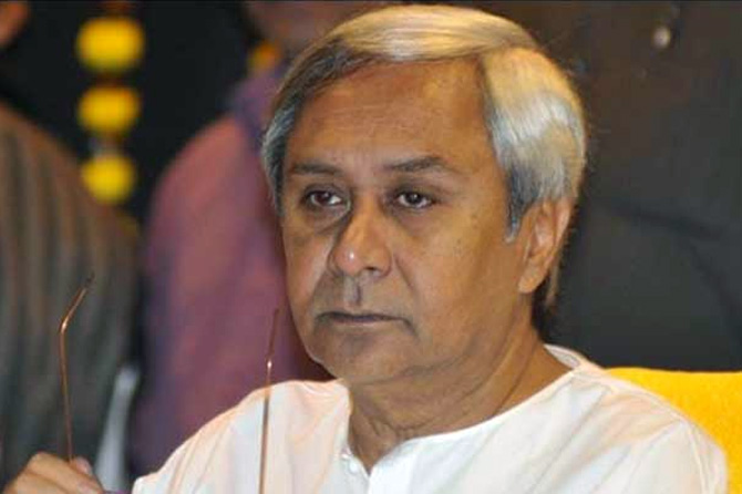 Chief minister of Odisha, Naveen Patnaik.