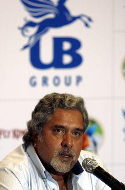 United Breweries Group Chairman Vijay Mallya.