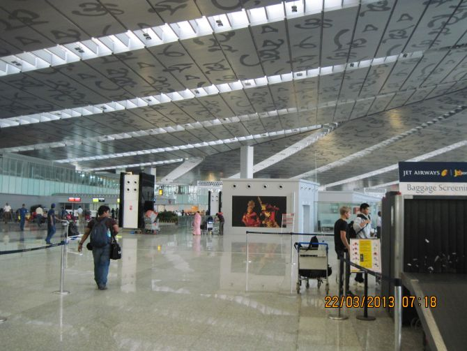 Skyview of the new Kolkata Integrated Terminal.