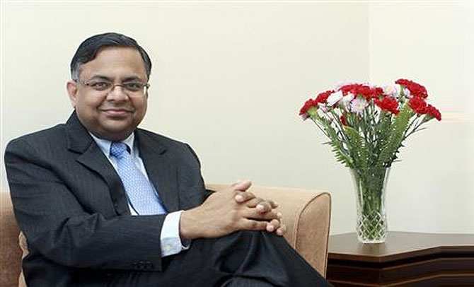 CEO and Managing Director N Chandrasekaran.