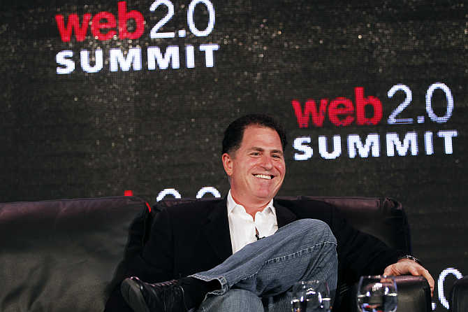 Michael Dell in San Francisco, California.