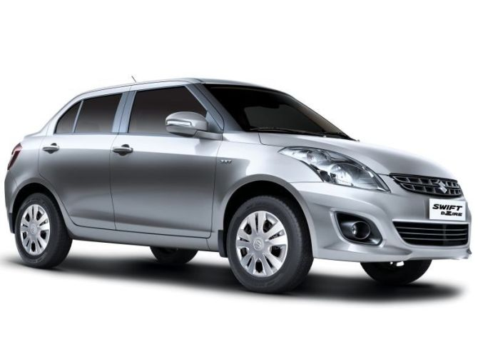 Swift Dzire. The company had recalled only 581 Dzire.