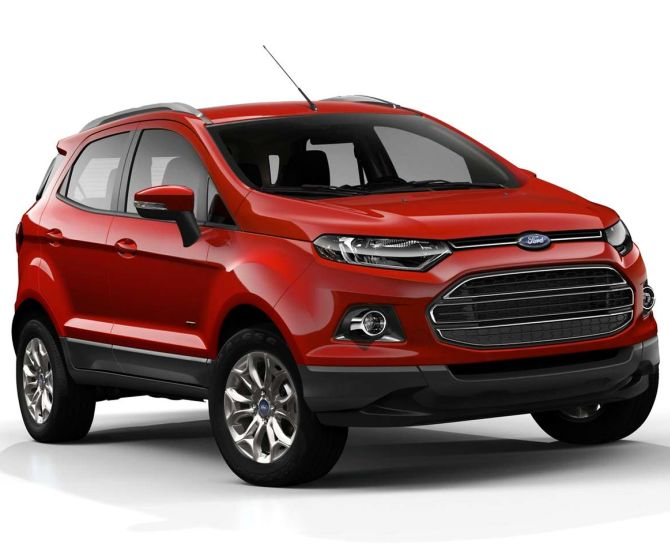 Ford EcoSport. The company had recalled 972 units of EcoSport diesel.