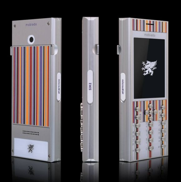The Professional 3 DC - Piet Mondrian phone by Mobiado.