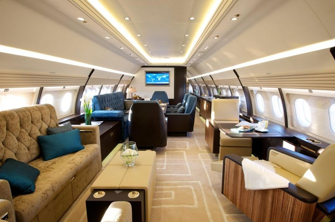Onboard the Airbus' stunning corporate jets