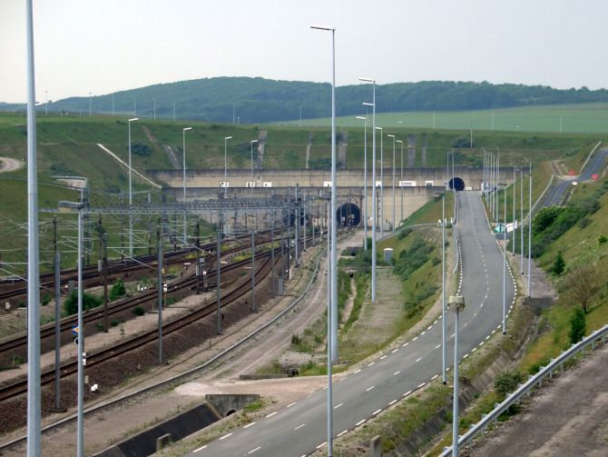 Channel Tunnel.