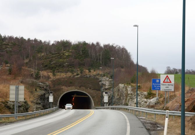 Bomlafjord Tunnel.