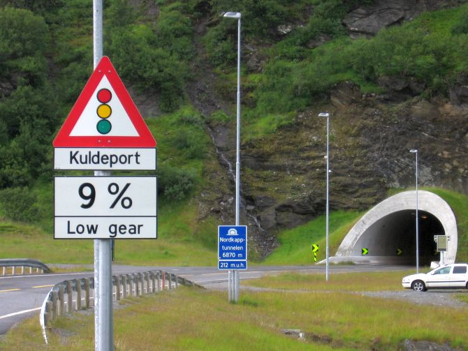 North Cape Tunnel.