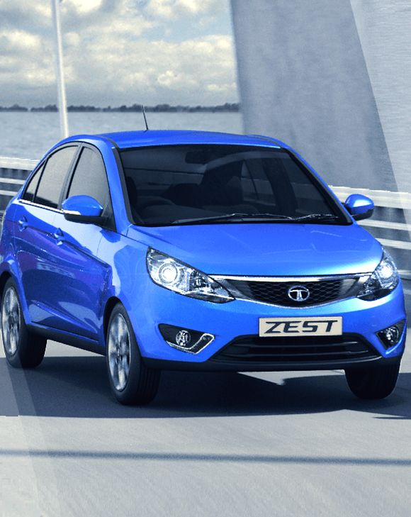 Tata Zest that will house Revotron.