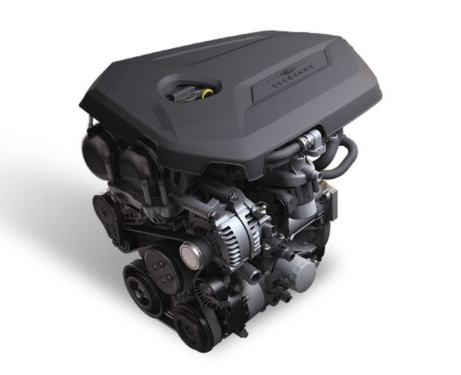 Ford EcoBoost engine.