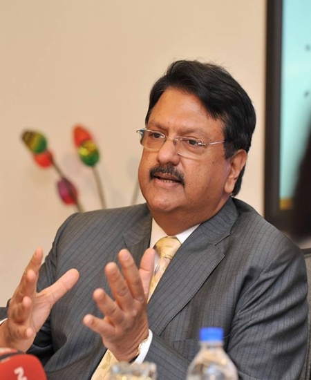 Ajay Piramal, head of Piramal group
