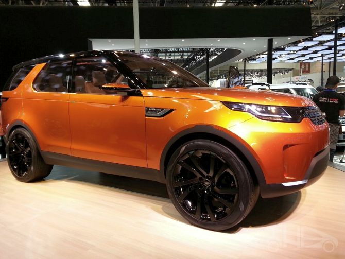 Land Rover Discovery Vision Concept.