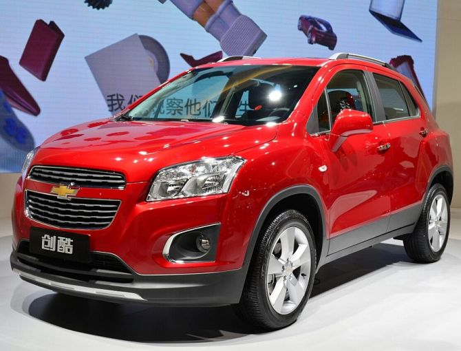 Chevrolet Trax Changku.