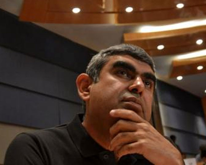 Sikka is the first outsider and non-founder CEO of the country's second largest software services firm.