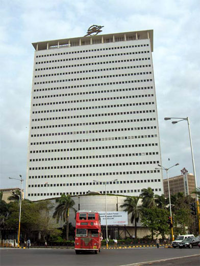 Air India building in Mumbai.
