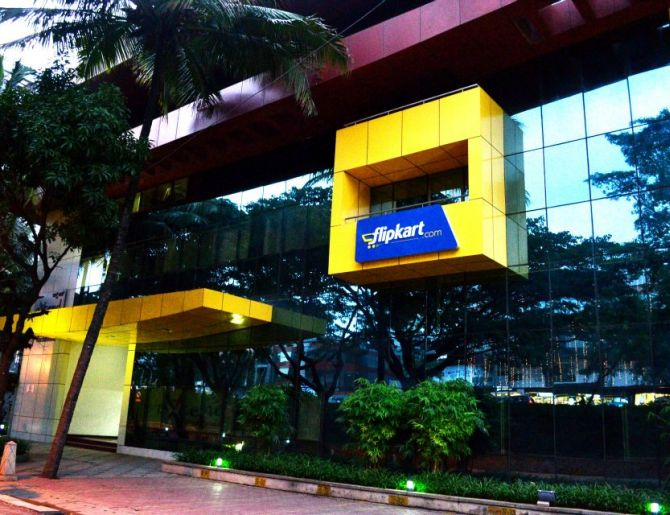 Flipkart office at Koramangala, Bangalore.