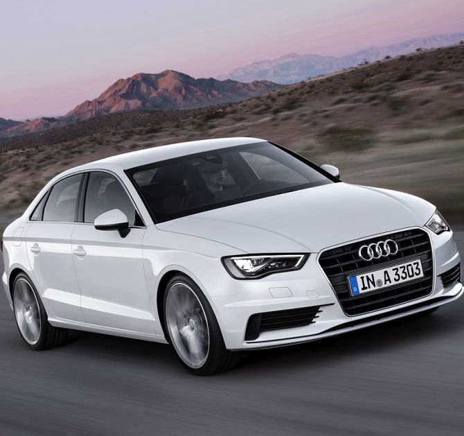 Audi launches A3 sedan@ Rs 22.95 lakh