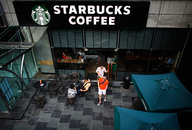 StarBucks is a coffee house chain with a global repute.