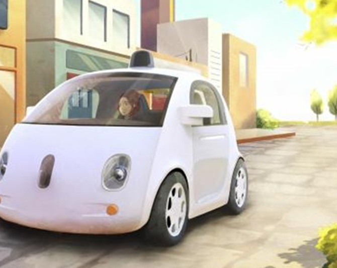 Test drive: A ride in Google's amazing driverless car!